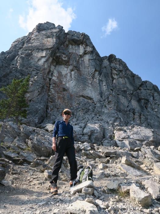 2度目の挑戦でついに登頂なるか! ロッキーの名峰 Mt.アシニボイン(3618m)_d0112928_23032846.jpg