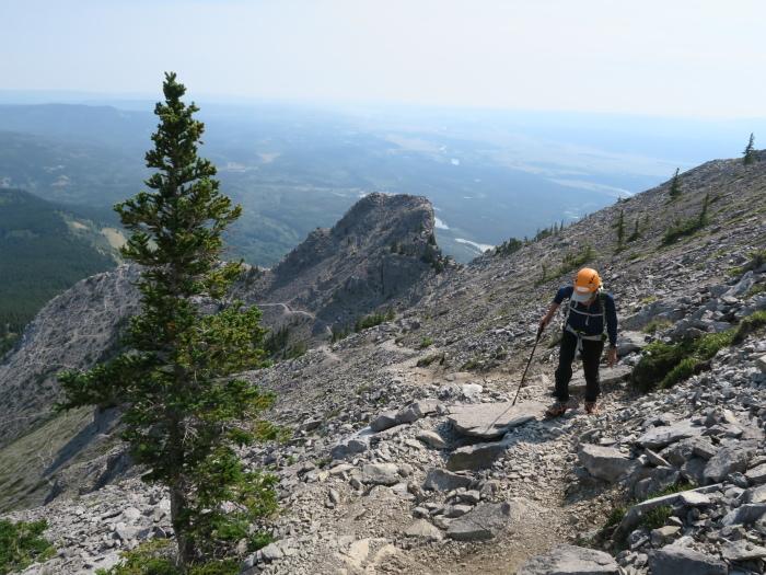 2度目の挑戦でついに登頂なるか! ロッキーの名峰 Mt.アシニボイン(3618m)_d0112928_23130898.jpg
