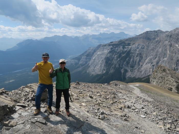 2度目の挑戦でついに登頂なるか! ロッキーの名峰 Mt.アシニボイン(3618m)_d0112928_23213233.jpg