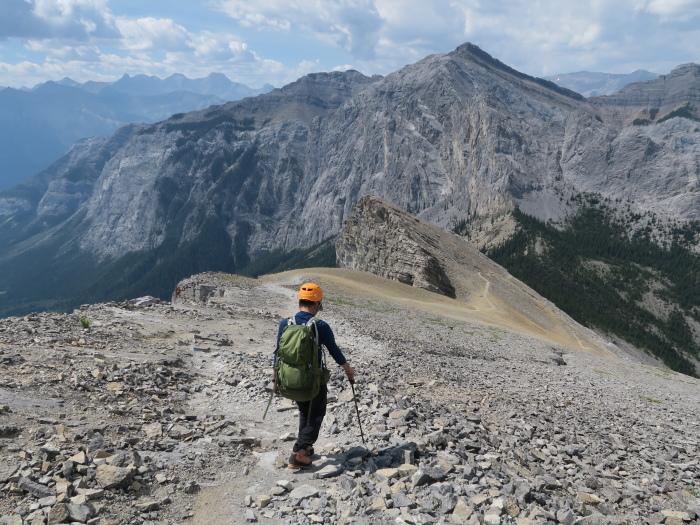 2度目の挑戦でついに登頂なるか! ロッキーの名峰 Mt.アシニボイン(3618m)_d0112928_23262345.jpg