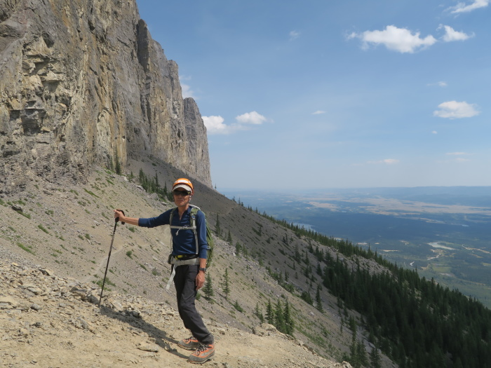 2度目の挑戦でついに登頂なるか! ロッキーの名峰 Mt.アシニボイン(3618m)_d0112928_23424699.jpg