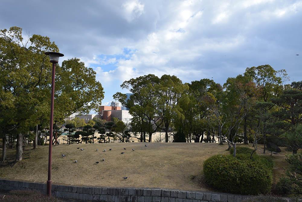 太平記を歩く。 その96 「阪本城跡(大倉山公園)」 神戸市中央区_e0158128_20124004.jpg