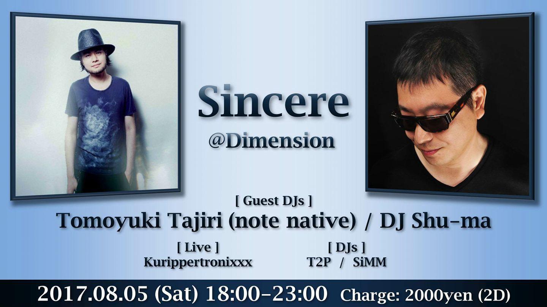 Sincere@渋谷Dimension_f0142044_15524451.jpg