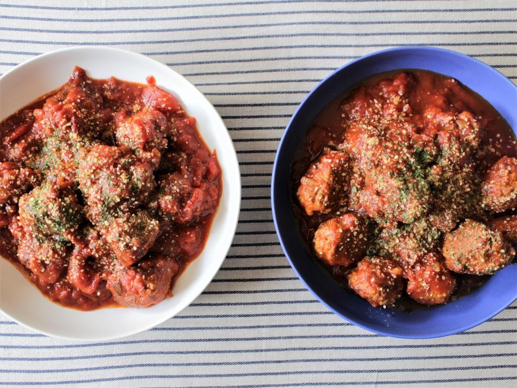 肉だんごのトマト煮_f0220354_09182595.jpg