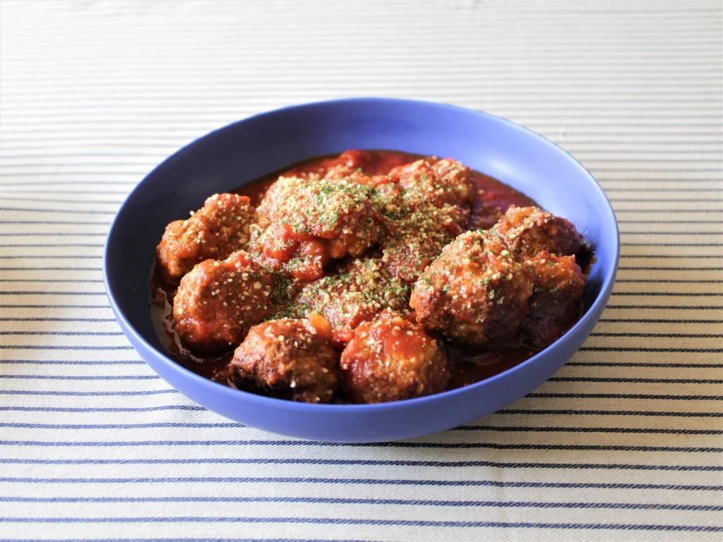 肉だんごのトマト煮_f0220354_09183538.jpg