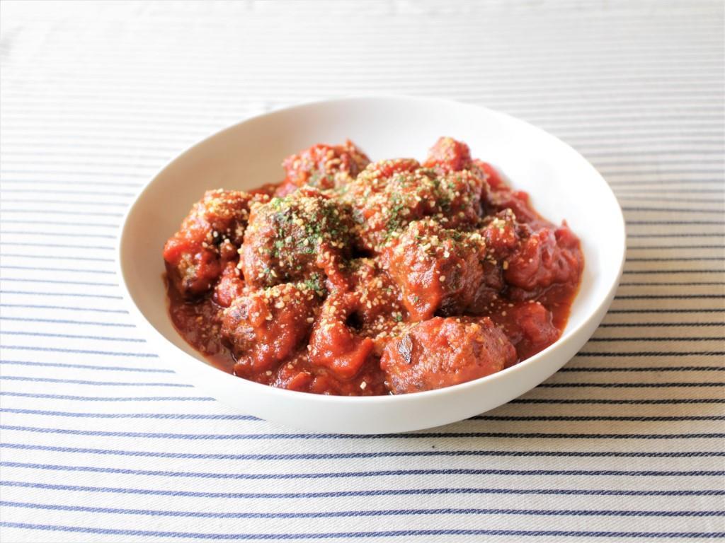 肉だんごのトマト煮_f0220354_09183908.jpg