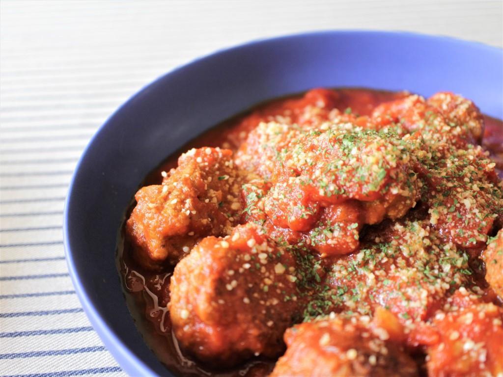 肉だんごのトマト煮_f0220354_09184770.jpg