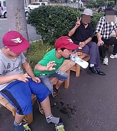 庭の鬼百合&孫たちは盛岡さんさ踊りへ_f0019498_18233532.jpg