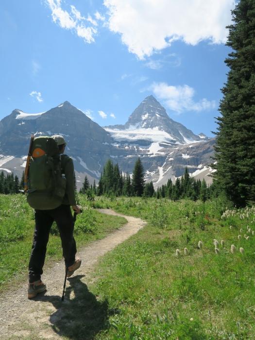 2度目の挑戦でついに登頂なるか! ロッキーの名峰 Mt.アシニボイン(3618m)_d0112928_00365435.jpg