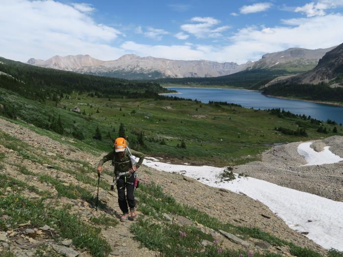 2度目の挑戦でついに登頂なるか! ロッキーの名峰 Mt.アシニボイン(3618m)_d0112928_00381370.jpg