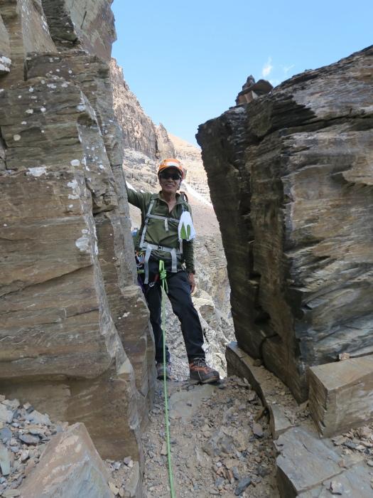 2度目の挑戦でついに登頂なるか! ロッキーの名峰 Mt.アシニボイン(3618m)_d0112928_00401608.jpg