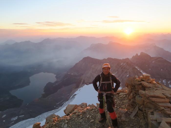 2度目の挑戦でついに登頂なるか! ロッキーの名峰 Mt.アシニボイン(3618m)_d0112928_00482852.jpg