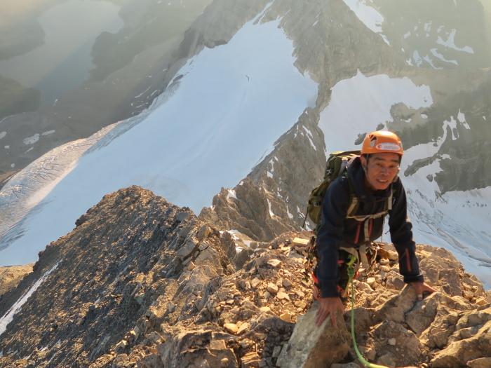 2度目の挑戦でついに登頂なるか! ロッキーの名峰 Mt.アシニボイン(3618m)_d0112928_00515068.jpg