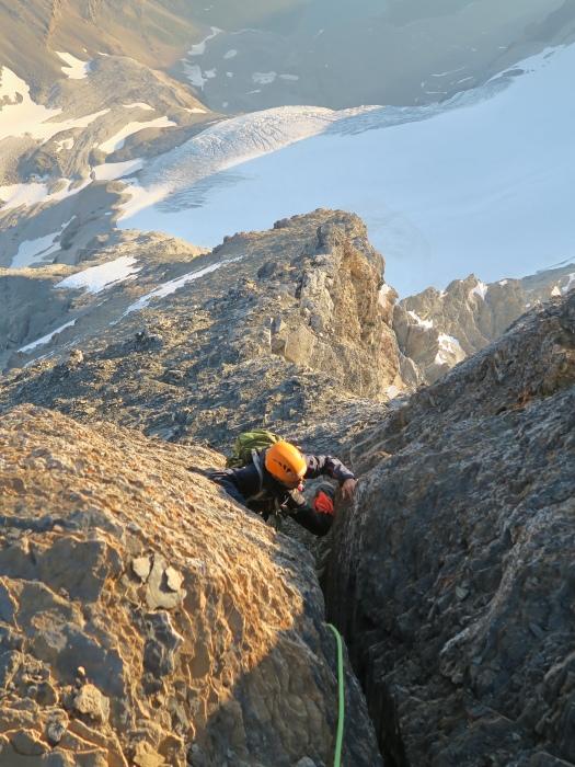 2度目の挑戦でついに登頂なるか! ロッキーの名峰 Mt.アシニボイン(3618m)_d0112928_00521871.jpg