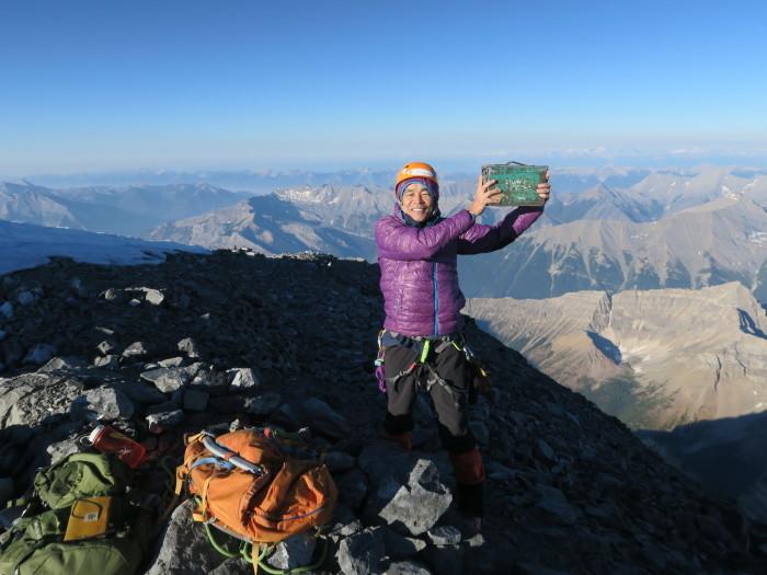 2度目の挑戦でついに登頂なるか! ロッキーの名峰 Mt.アシニボイン(3618m)_d0112928_00590127.jpg