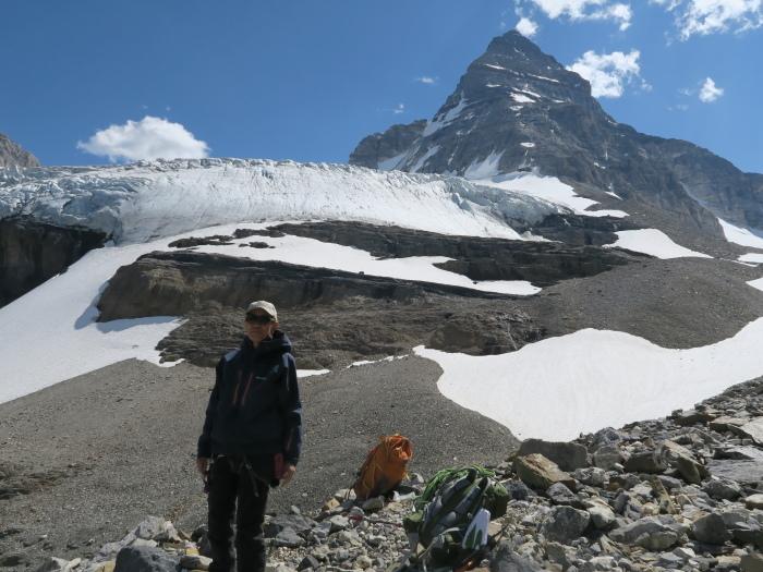 2度目の挑戦でついに登頂なるか! ロッキーの名峰 Mt.アシニボイン(3618m)_d0112928_01134140.jpg