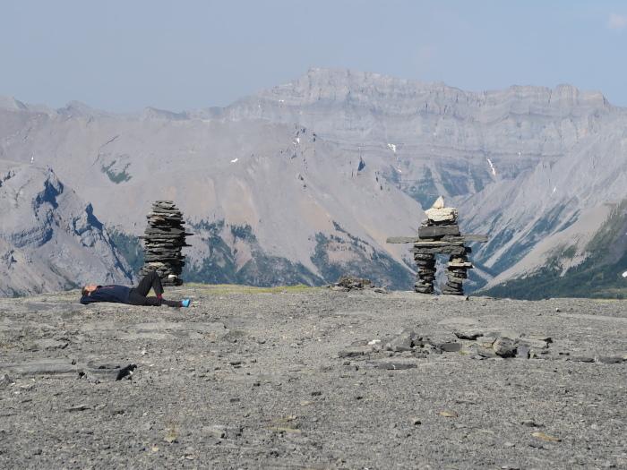 2度目の挑戦でついに登頂なるか! ロッキーの名峰 Mt.アシニボイン(3618m)_d0112928_01153531.jpg