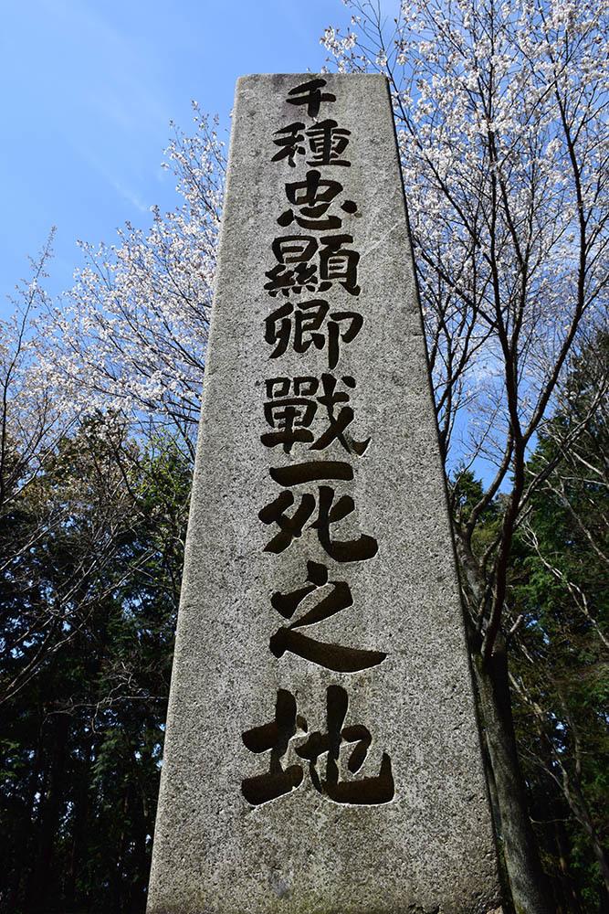 太平記を歩く。 その107 「千種忠顕戦死之地」 京都市左京区_e0158128_17535842.jpg