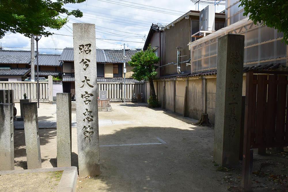 太平記を歩く。 その108 「名和長年殉節之地」 京都市上京区_e0158128_19001504.jpg