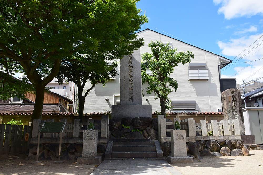太平記を歩く。 その108 「名和長年殉節之地」 京都市上京区_e0158128_19022052.jpg