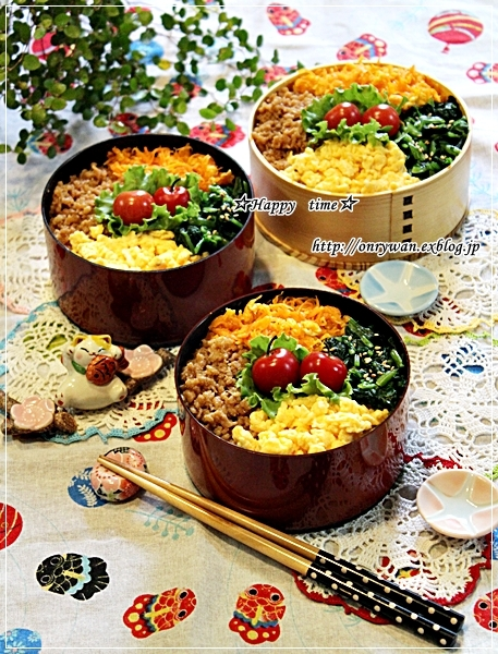 4色弁当と今夜は豆腐ハンバーグ♪_f0348032_18242155.jpg