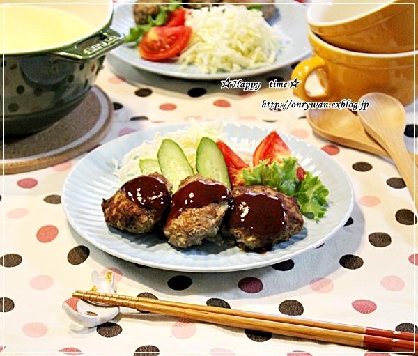 4色弁当と今夜は豆腐ハンバーグ♪_f0348032_18244632.jpg