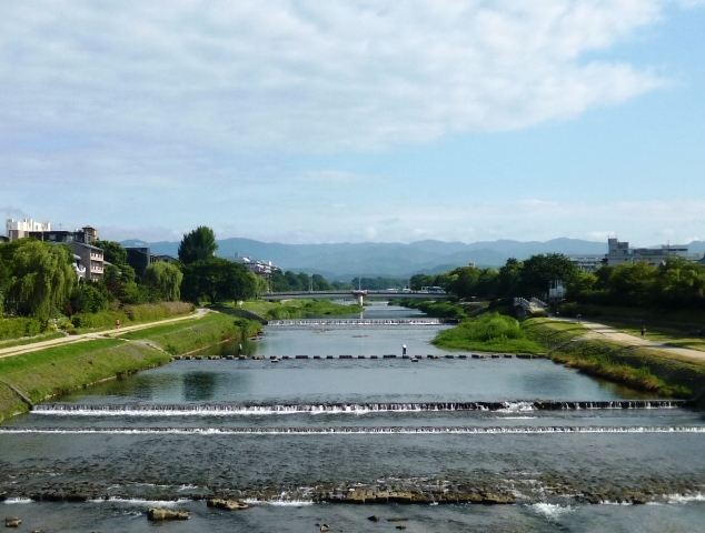 二条大橋からの風景復活 夏休みの景色_e0230141_10174821.jpg