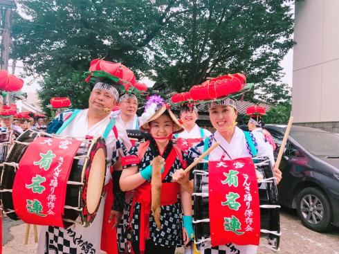 盛岡さんさ踊り٩(๑❛ᴗ❛๑)۶〜40周年記念〜_b0199244_06574720.jpg