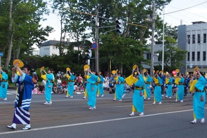函館港まつり、わっしょいはこだて十字街大門コース。函館港おどり、子どもいか踊り、サマーカーニバル_b0106766_22205341.jpg