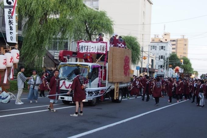 函館港まつり、わっしょいはこだて十字街大門コース。函館港おどり、子どもいか踊り、サマーカーニバル_b0106766_22211019.jpg
