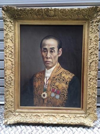 池田章政(侯爵)戦前油彩画 : 軍隊屋「前さん」今日の一人言!
