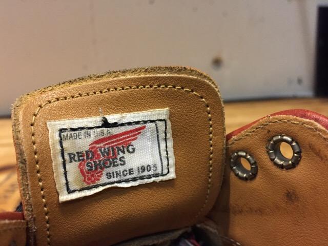 8月5日(土)大阪店ブーツ&スーペリア&雑貨入荷!#1 RED WING!!_c0078587_18222377.jpg