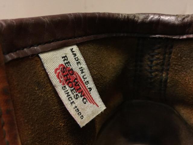 8月5日(土)大阪店ブーツ&スーペリア&雑貨入荷!#1 RED WING!!_c0078587_18251178.jpg