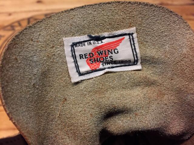 8月5日(土)大阪店ブーツ&スーペリア&雑貨入荷!#1 RED WING!!_c0078587_1894127.jpg
