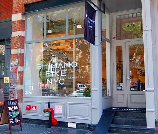 世界最大自転車パーツメーカー、日本のシマノがNYにポップアップ店をオープン中_b0007805_23391727.jpg