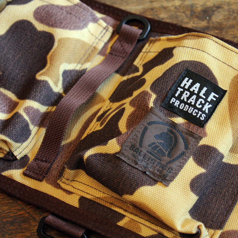 "BALLISTICS × HALF TRACK PRODUCTS ""wet cover pocket\""_c0222907_17094324.jpg"
