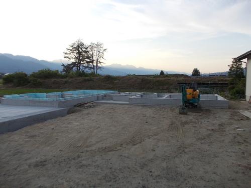 池田町K邸工事始まりました。_c0218716_922449.jpg
