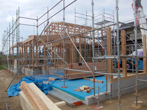池田町K邸工事始まりました。_c0218716_922588.jpg