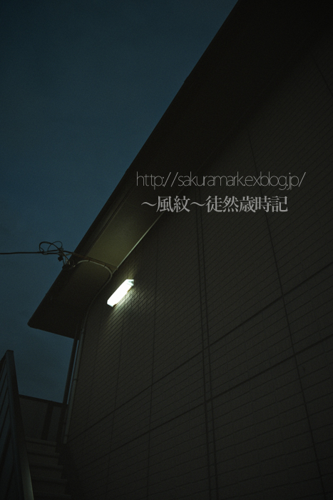 夕闇ステップ。_f0235723_19554133.jpg