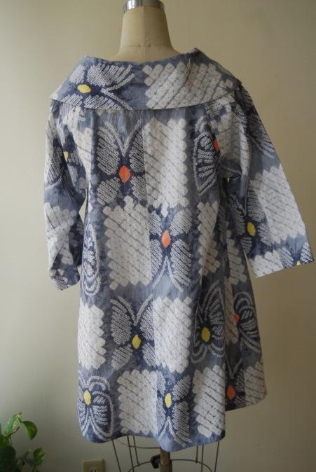 着物リメイク・浴衣から広襟ワンピース_d0127925_23345003.jpg