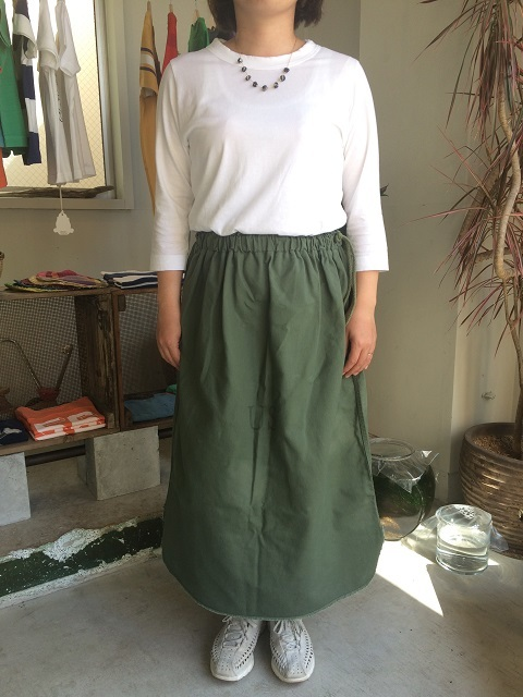Remaked by folk : US.ARMY laundry bag → skirt_a0234452_19403080.jpg