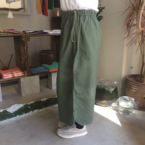Remaked by folk : US.ARMY laundry bag → skirt_a0234452_19405459.jpg