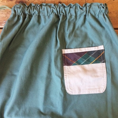 Remaked by folk : US.ARMY laundry bag → skirt_a0234452_19411216.jpg