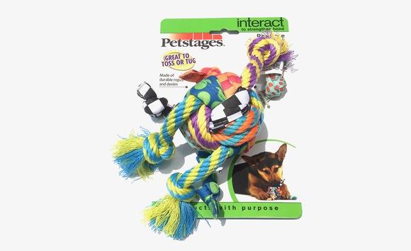 Petstages Rag Rope Ball ペットステージ ラグ ロープボール_d0217958_12134939.jpg