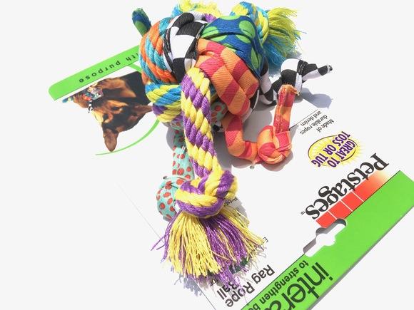 Petstages Rag Rope Ball ペットステージ ラグ ロープボール_d0217958_12141787.jpg