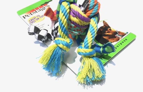 Petstages Rag Rope Ball ペットステージ ラグ ロープボール_d0217958_1214291.jpg
