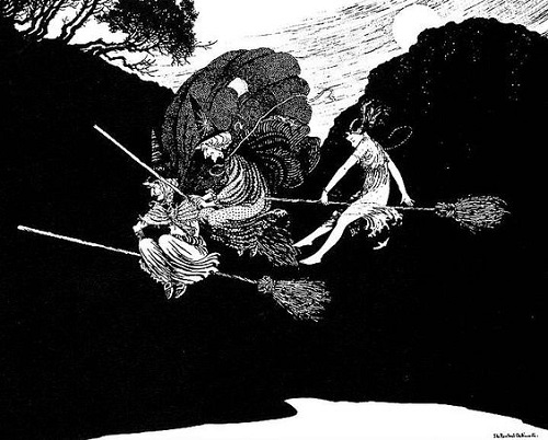 イダ・レントール・アウスウェイト画の魔女コレクション_c0084183_1151999.jpg