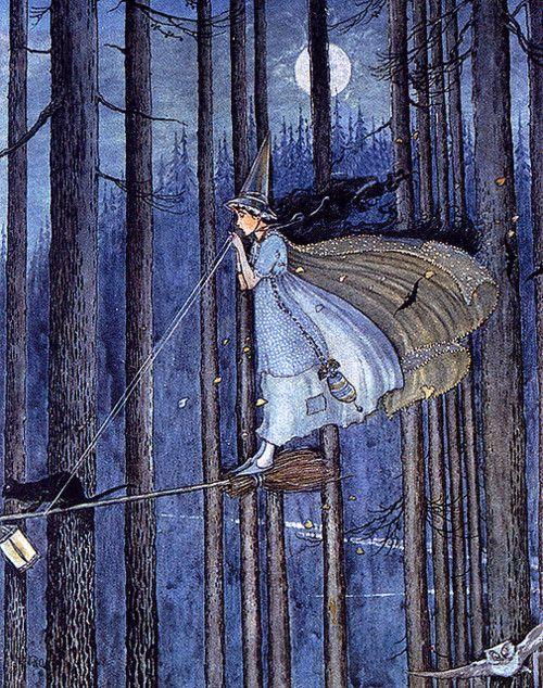 イダ・レントール・アウスウェイト画の魔女コレクション_c0084183_1155667.jpg