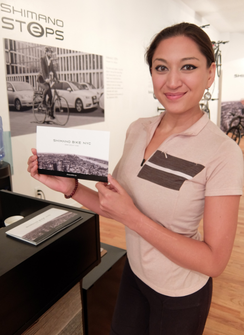 世界最大自転車パーツメーカー、日本のシマノがNYにポップアップ店をオープン中_b0007805_0115135.jpg