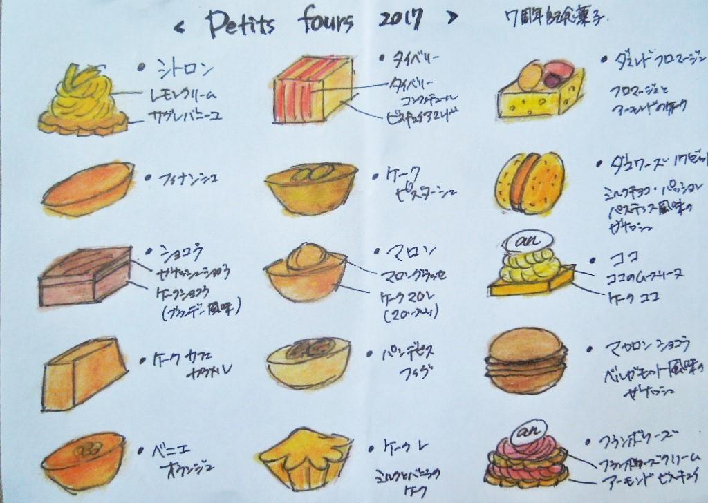 「Petits fours 2017 (プティフール)」_a0120513_21004277.jpg